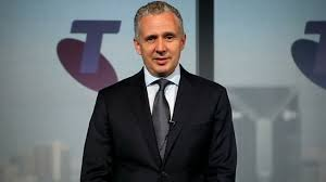 """Telstra Boss Andy Penn Claims He Is Reading """"All"""" The Messages From Angry Customers. """"Pigs Arse"""" is he said one angry customer."""